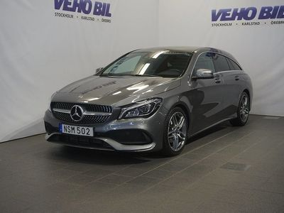 begagnad Mercedes CLA200 Shooting Brake AMG Line-Premiumpaket