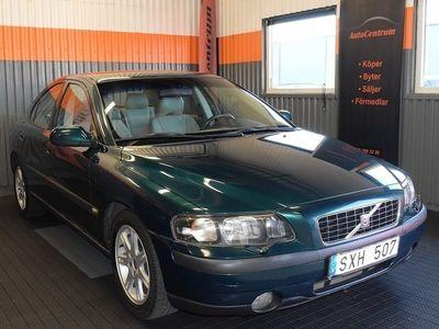 begagnad Volvo S60 2.4 170hk Automat Nyservad 0:-KR Ko -02