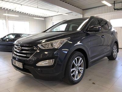 gebraucht Hyundai Santa Fe 2.2 CRDi-R 4WD (197hk) -DRAGKROK - MOTORVÄRMARE - VINTERHJUL