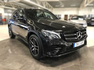 begagnad Mercedes GLC220 d 4M 4MATIC 170hk, Backkamera, Värmare, Drag, AMG styling