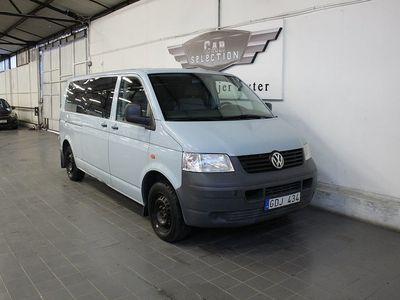 begagnad VW Shuttle 2.0 CNG 115hk LÅGMIL 8Sits