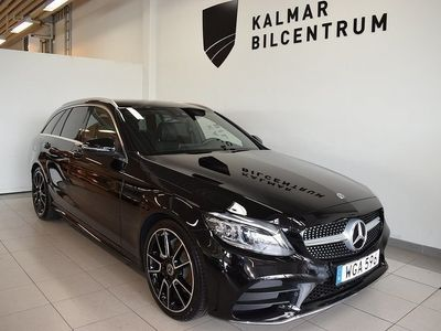 begagnad Mercedes C220 T d AMG line Premium plus dragkrok 9G-Tronic Euro 6 194hk