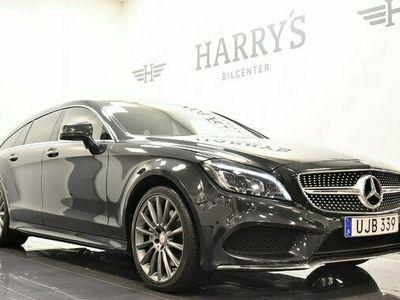 begagnad Mercedes 400 CLS Benz4MATIC SB 7G AMG Navi H-K 2017, Sportkupé Pris 428 800 kr