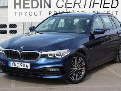 brugt BMW 520 D xDrive Touring Sport Line Drag
