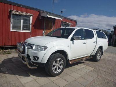 begagnad Mitsubishi L200 Double Cab 2,5 4WD 2011, Personbil 76 250 kr