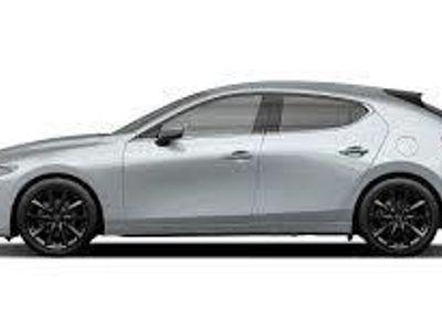 begagnad Mazda 3 HB M6 2.0 Cosmo 180 hk Svart Skinnklädsel