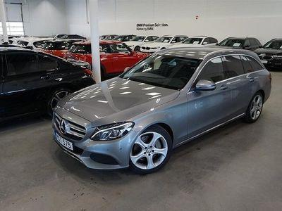 begagnad Mercedes C350 T e Avantgarde Komfort Drag Backkamera