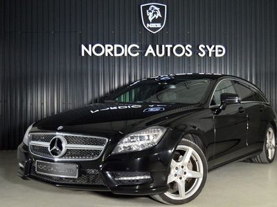 begagnad Mercedes 350 CLS BenzCDI AMG 4MATIC Shooting Brake 7G-Tronic Plus Sport 2014, Sportkupé 289 900 kr