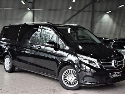begagnad Mercedes V220 CDI AUT EXTRA LÅNG 8-SIT -16