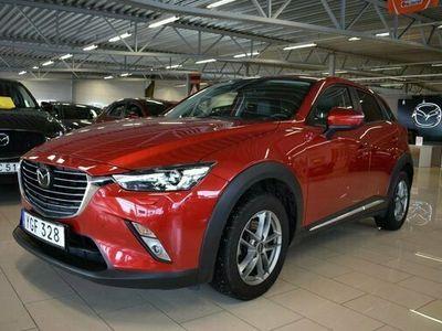 begagnad Mazda CX-3 2.0 Optimum Automat 2017, SUV Pris 179 000 kr