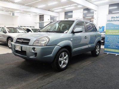 begagnad Hyundai Tucson 2.0-CRDi-4WD-Välvårdad-Drag