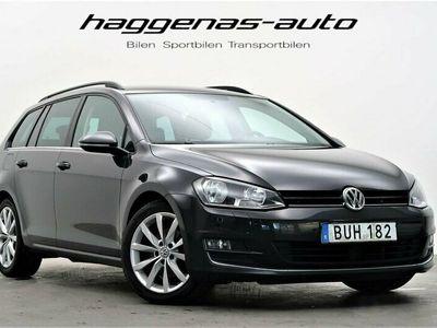 begagnad VW Golf Sportskombi 2.0 TDI / GT / 150hk