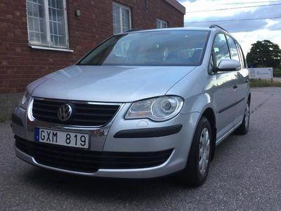 begagnad VW Touran VW 2.0 EcoFuel 2008, SUV 25 000 kr