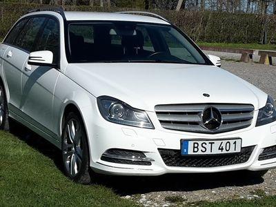 begagnad Mercedes C220 BlueEfficiency, dieselvärmare/Drag/Navi 2014