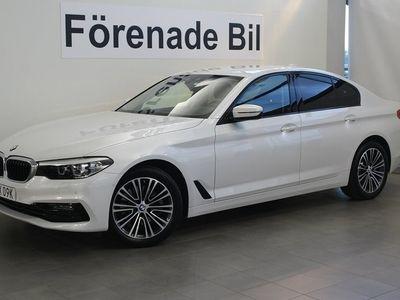 begagnad BMW 520 d xDrive Sedan Sport Line Aut Navi Dragkrok