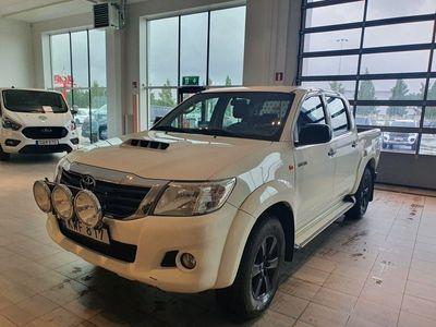 begagnad Toyota HiLux Dubbelhytt 2.5 D-4D 4WD 144hk