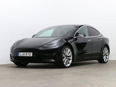 begagnad Tesla Model 3 Performance AWD 460hk
