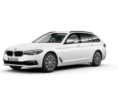 begagnad BMW 520 d xDrive Touring Sportlne Winter HiFi Drag