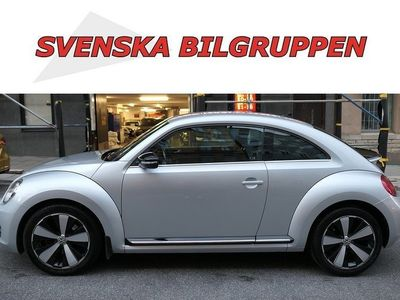 begagnad VW Beetle TheTSI 200 DSG GT Fender Navi LM S+V