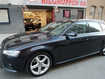 gebraucht Audi A4 2,0 TDI Quattro Sports Edition Drag M-värm 2014, Kombi 189 900 kr