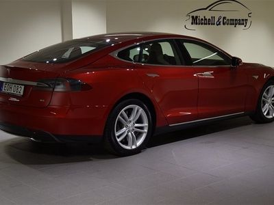begagnad Tesla Model S 85 AUTOPILOT TEKNIKPAKET SVENSK
