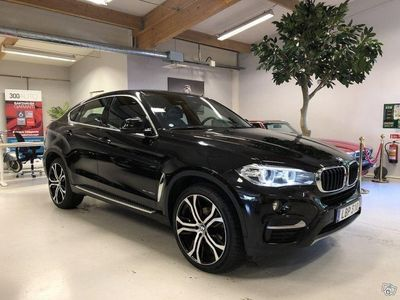 begagnad BMW X6 xDrive30d Steptronic Euro 6 258hk 1-ÄG -16