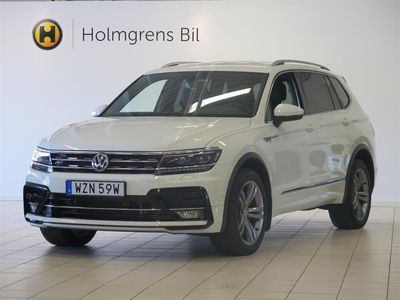 begagnad VW Tiguan Allspace R-Line 2.0 TDI 190hk Drag CarPlay