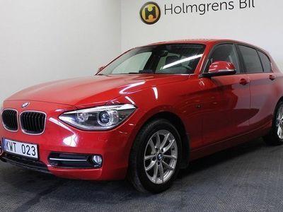 begagnad BMW 118 d xDrive (143hk)