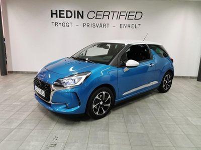 begagnad Citroën DS3 1.2 PureTech / 1 Ägare / Nyservad med nya brom