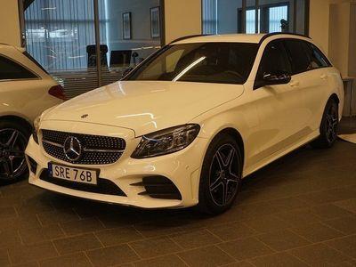 begagnad Mercedes C220 T d 4MATIC Aut AMG Line Värmare