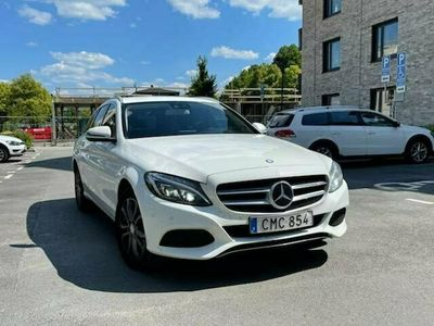 begagnad Mercedes C220 D 4MATIC
