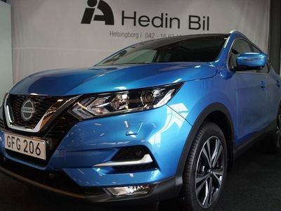 begagnad Nissan Qashqai 1.5 dCi Manuell N-Connecta Roof-Pack