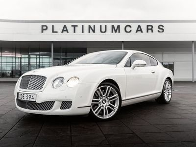 begagnad Bentley Continental GT 6.0 W12 Automat 560hk