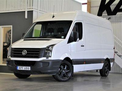 begagnad VW Crafter 2,0 TDi 35 Skåp Värmare, Drag