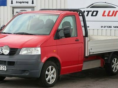 begagnad VW Transporter Chassi 2.0 Flak Drag NY KAMREM NYBES