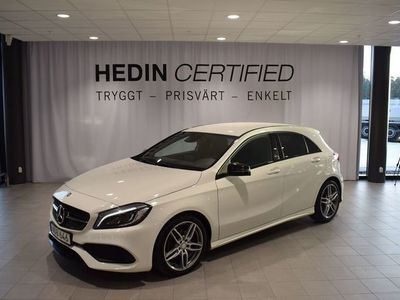 begagnad Mercedes 180 A-klass// AMG-paket // Nightpackage