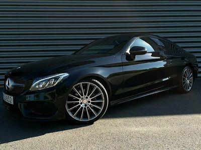 begagnad Mercedes C200 Coupé AMG Sport I Panorama I Backkamera