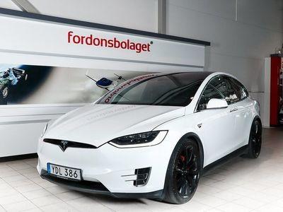begagnad Tesla Model X P90D AWD Insane+ AP Drag