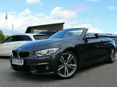begagnad BMW 435 i M-SPORT Cab Airscarf Head-Up ComfortAccess 2014, Sportkupé Pris 389 900 kr