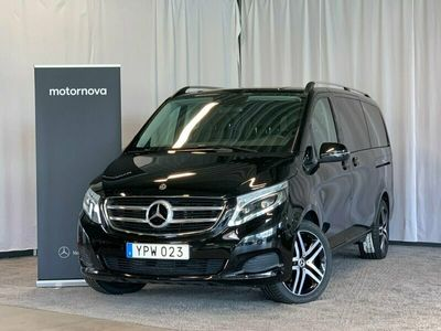 begagnad Mercedes V250 d 4M 4MATIC BURMESTER 8-SITS LUGANO LÄDERKLÄDSEL