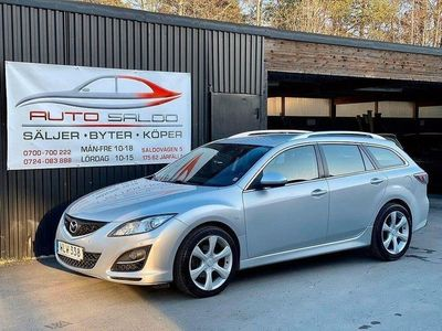 begagnad Mazda 6 Wagon 2.2 Diesel Sport DRAG