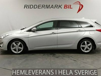 begagnad Hyundai i40 cw 1.7 CRDi Nyservad Drag Keyless 136hk