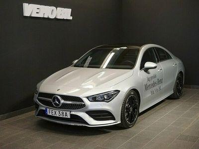 begagnad Mercedes CLA200 SE AMG Line Premiumpaket Aut Panorama