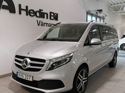 begagnad Mercedes V300 - BenzD 239HK 4x4 / AVANTGARD / 360 / LÄDER