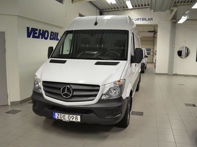 begagnad Mercedes Sprinter Benz 163CDI Aut 10,5m2 2017, Transportbil 349 900 kr