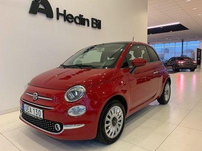begagnad Fiat 500 Lounge 1.2 69 hk / 2489 mil / Låg