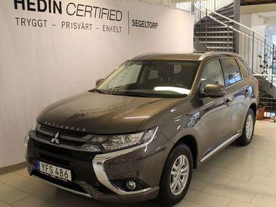 begagnad Mitsubishi Outlander 2,0 Phev 4WD Fleet Drag S+V-hjul