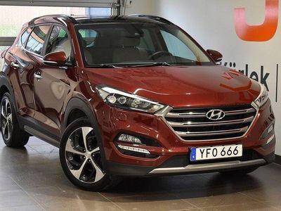 begagnad Hyundai Tucson Premium 2,0 D 184hk Automat 4W