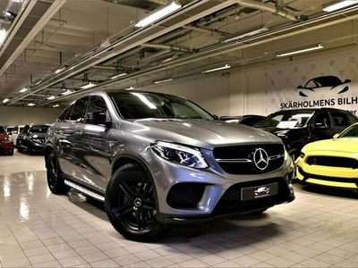 begagnad Mercedes GLE43 AMG AMG 4MATIC Coupé 9G-Tronic Sport Edition Panoramaglastak