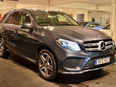 begagnad Mercedes 400 GLE BenzAmg 4M Aut Gps Drag 2016, SUV 409 900 kr